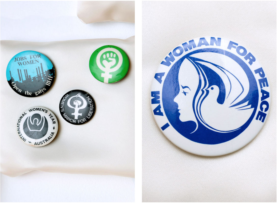 Contemporary Art & Feminism, badges